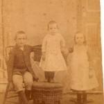 Children of Ephraim Ezra Marsalis - Jim, Luther, and Ethel